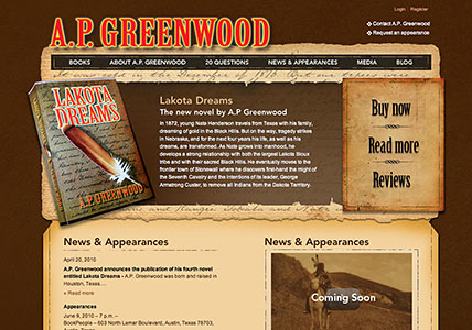 AP Greenwood Homepage