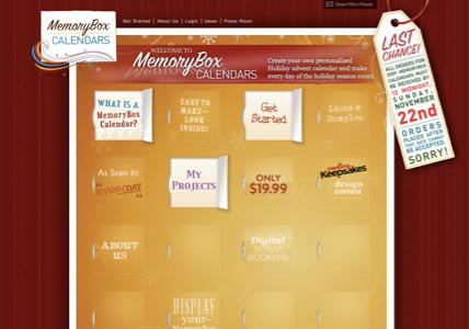 MemoryBox Calendars.com
