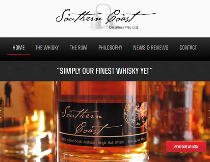 Southern Coast Distillers Home