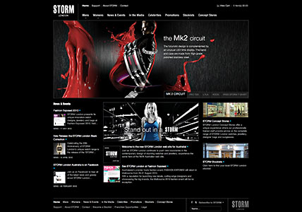 Storm Watches Home Page
