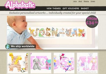 Alphatastic Homepage
