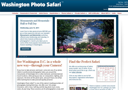 Washington Photo Safari Home Page