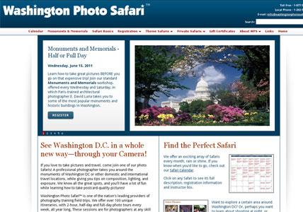 Washington Photo Safari Home Page